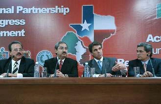 The Border Governor's sign the Agreement for Regional Progress